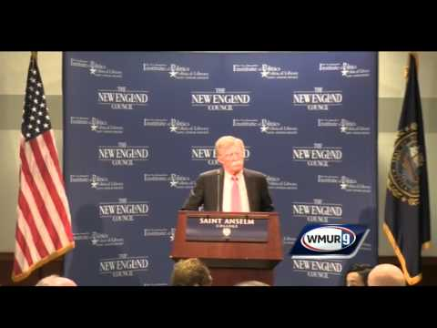 Raw video: John Bolton speaks at Politics and Eggs event