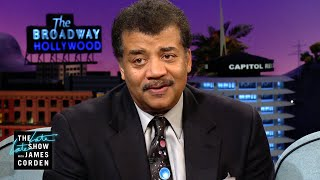 Neil deGrasse Tyson Goes DEEP w/ Aaron Paul & James Corden
