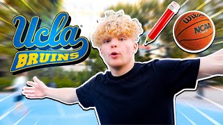 College Seniors Get EXPOSED! 5v5 Basketball At UCLA!