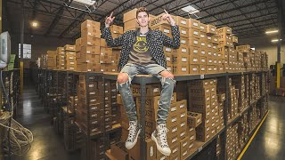 Inside SoleStage's Sneaker Warehouse Worth $30 Million Dollars