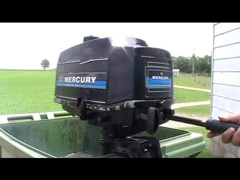 4hp Mercury Outboard Engine