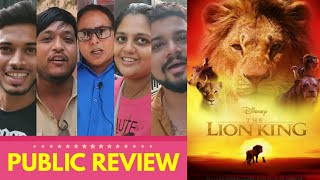 The Lion King Movie PUBLIC REVIEW ft. Vijay Ji | Hindi | Jon Favreau | Shahrukh Khan, Aryan Khan