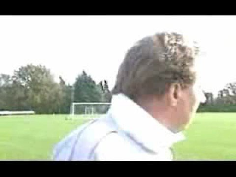 Harry Rednkapp hates being hit by a football