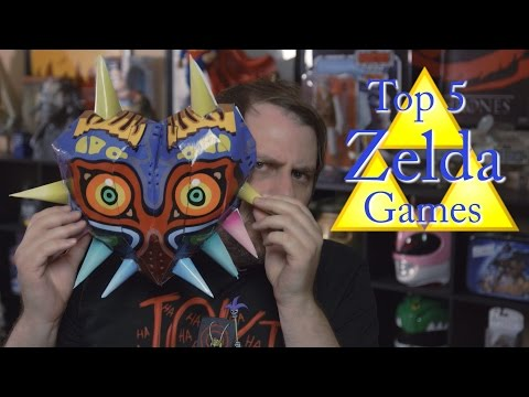 Top 5 Legend of Zelda Console Games Chat with Chad