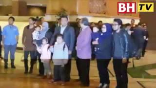 Rakyat Malaysia selamat tiba dari Pyongyang