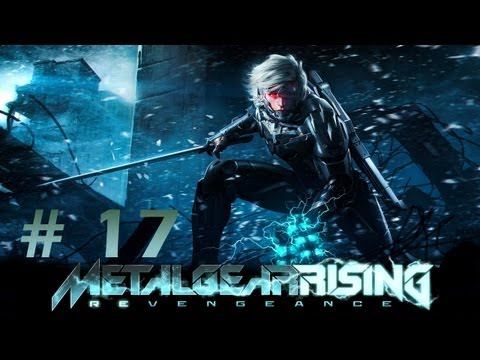 Let's Play METAL GEAR RISING - REVENGEANCE - 17 - Man liest, man löst, man läuft die Wand hoch!