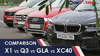 Volvo XC40 vs BMW X1 vs Audi Q3 vs Mercedes-Benz GLA