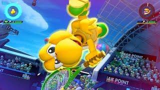 Mario Tennis Aces - New Character! - Koopa Troopa