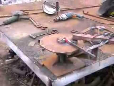 Станок художественной ковки своими руками