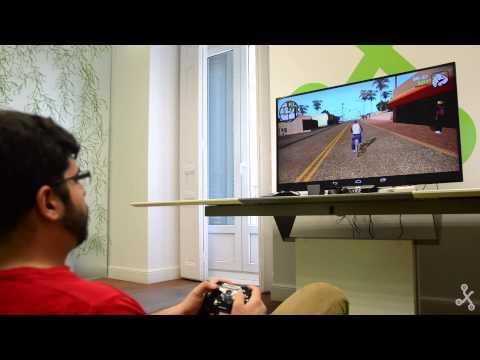 Jugando con Android en la TV