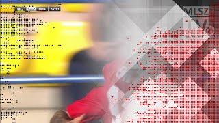 Lanzafame Davide gólja a Mezőkövesd Zsóry FC - Budapest Honvéd mérkőzésen
