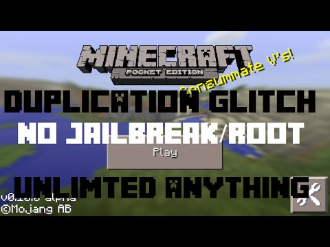 How to Duplicate Items in Minecraft PE 0.10.0 - 0.10.4/0.10.5 Get Unlimited Items HD