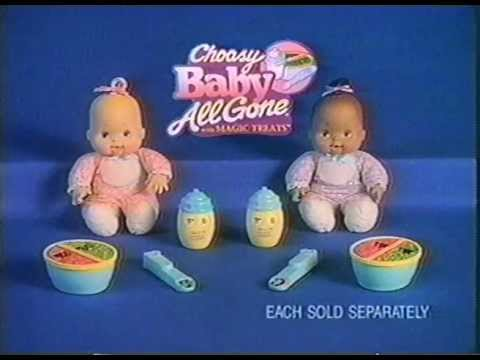 Choosy Baby All Gone 90s Commercial Youtube