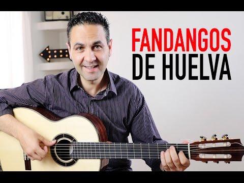COMO TOCAR FANDANGOS DE HUELVA MUY FÁCIL (Jerónimo De Carmen TUTORIAL)