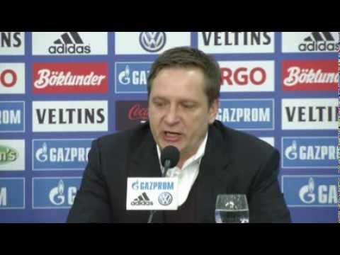 Horst Heldt zum Interview-Boykott: Begründung nicht akzeptabel | FC Schalke 04 - Steaua Bukarest 0:0