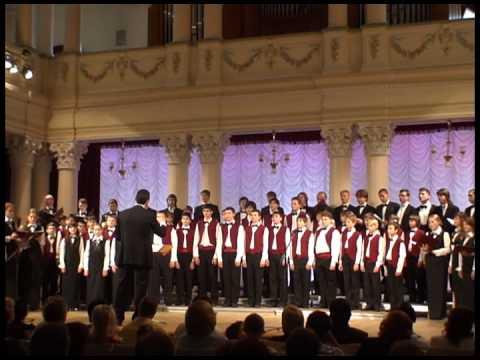 Seven romanses of Esenin Part1-Boys choir Dzvinochok