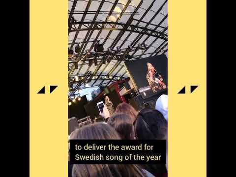 "Avicii wins ""Swedish song of the year"" @ Rockbjörnen 2019"