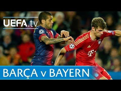 Robben, Messi, Effenberg - Classic Barcelona V Bayern Goals video
