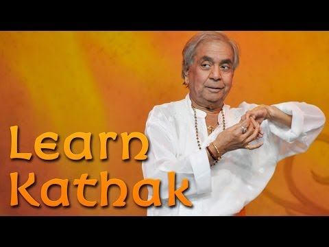 Learn Kathak From Pandit Birju Maharaj-ji On Dancewithmadhuri video