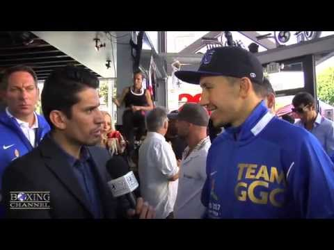 Gennady Golovkin wants to go 12 rds w Rubio Wants PPV fight w Cotto Canelo Chavez Jr