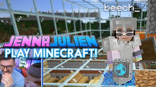 JennaJulien play Minecraft
