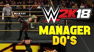 download lagu Wwe 2k18 Manager Dq - Ember Moon Vs Peyton gratis