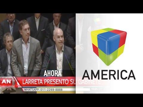Rodríguez Larreta presentó al gabinete que lo acompañará en la Ciudad
