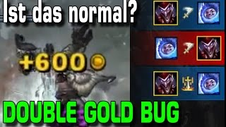 Shaco Double Gold Bug | Ist das normal? [Guide/Tutorial]