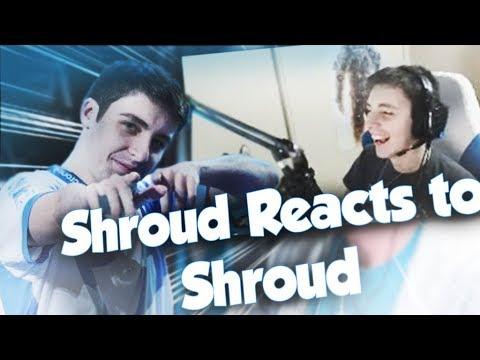 SHROUD REACTS TO - HOW SHROUD REALLY PLAYS CSGO
