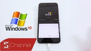 Schannel - Hướng dẫn cài đặt Windows XP trên iPhone 7 | 7 Plus: Vui thế này tội gì không thử!