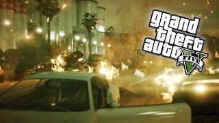 GTA 5 Next Gen - INSANE Chain Explosions! C4 Demolition Experts in GTA Online! (GTA 5 PS4 Gameplay)