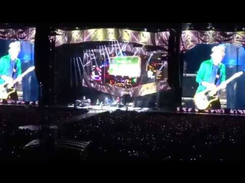 Rolling Stones open Zip Code Tour show in Columbus Ohio--Jumpin' Jack Flash--2015-05-30