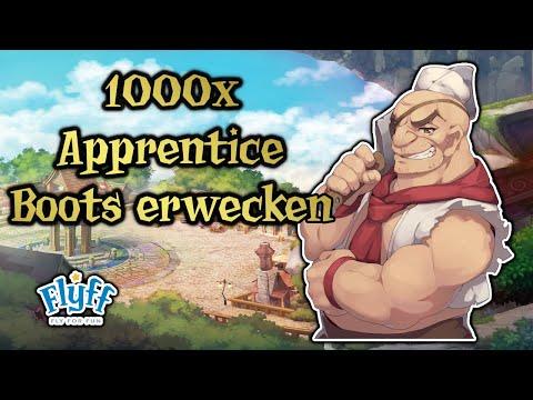 Let's Play Flyff [Ringmaster, Level 118-M] #1214 -1000x Apprentice Boots erwecken