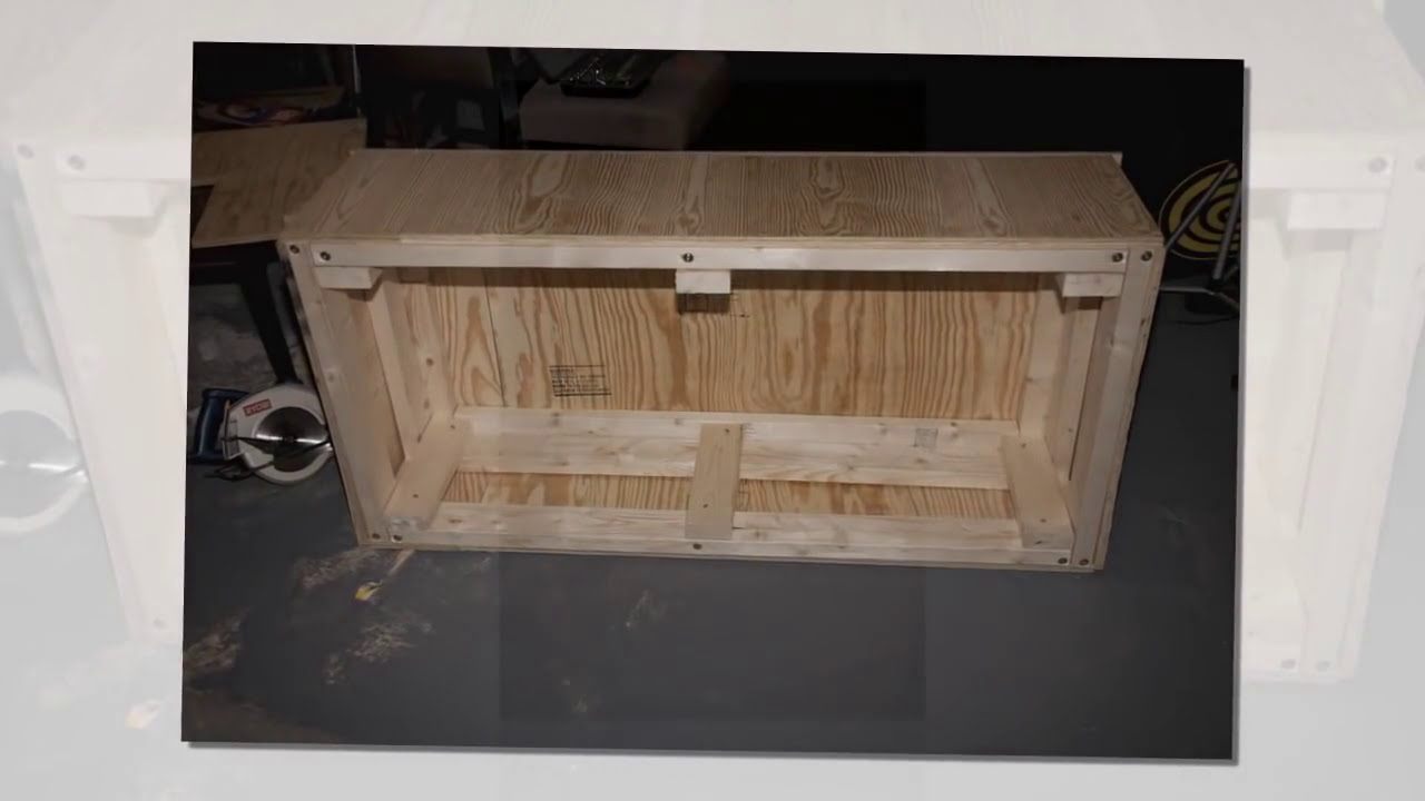 How To Build A Washer Dryer Pedestal Stand Box Youtube