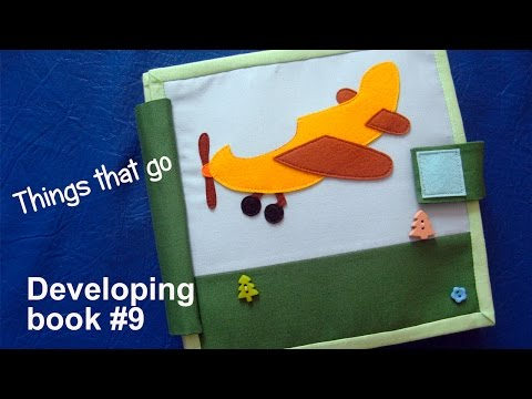 "Развивающая книга # 9 ""Транспорт"" 1+ | Developing book for boy"