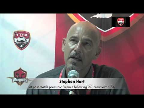 Stephen Hart's Post Match comments after 0-0 draw with USA