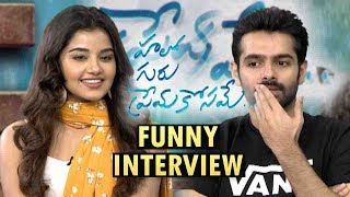 Ram Pothineni and Anupama Parameswaran Funny Interview About Hello Guru Prema Kosame | Ram , Anupama