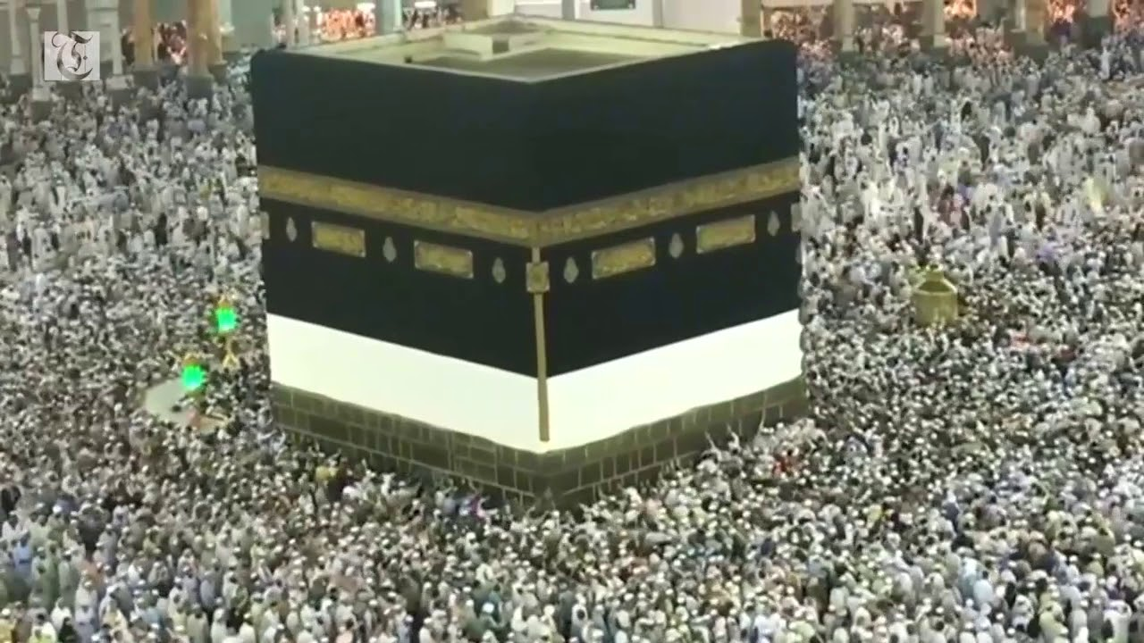 Hundreds of thousands of pilgrims attend prayers in Mecca