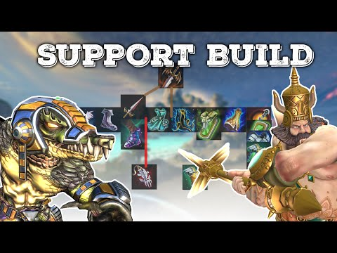 SMITE: NEW SUPPORT BUILD | SELFISH SUPPORT | In-Depth Stats & Variants For Incon's Build
