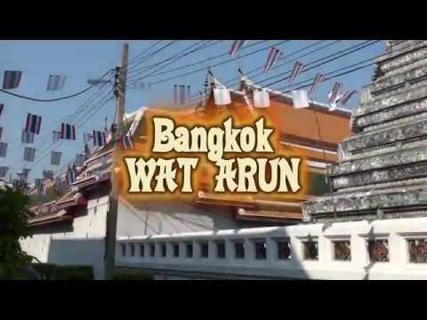 Wat Arun Temple video tour (Bangkok, Thailand)