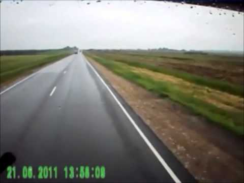 Аварии на дорогах видео подборка