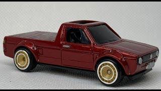 Hot Wheels Customizing : Volkswagen Caddy