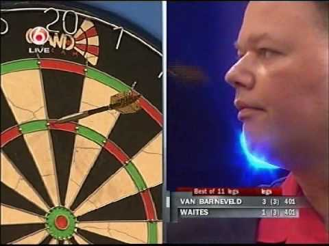 Raymond van Barneveld vs Scott Waites Part 2 - 2007 International Dart League - Round 1