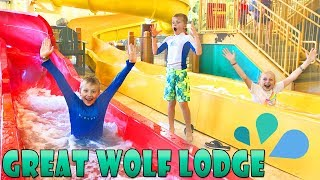 Great Wolf Lodge Best Waterpark & Ropes Course || Family Fun Pack