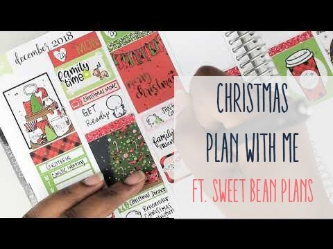 Christmas Plan With Me! //Ft. Sweet Bean Plans MP3