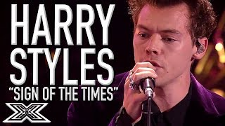Download Lagu HARRY STYLES Performs 'Sign Of The Times' On X Factor 2017! | X Factor Global Gratis STAFABAND