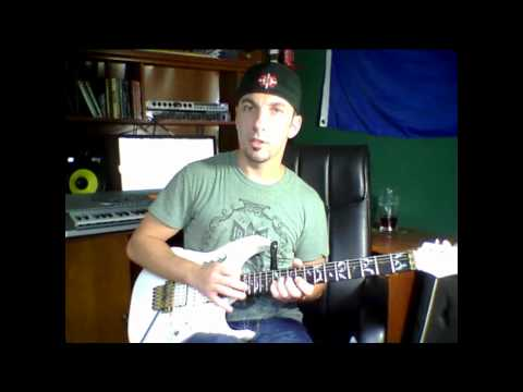 dont tell me you love me, Jeff Watson guitar solo lesson