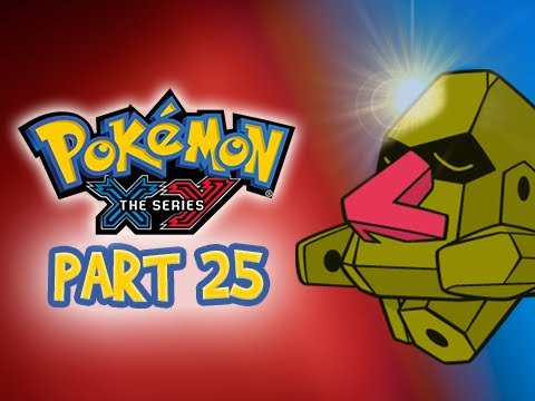Pokemon X and Y Gameplay Walkthrough Part 25 - SHINY NOSEPASS (3DS Commentary)