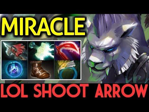 Miracle- Dota 2 [Mirana] LOL Shoot Arrow