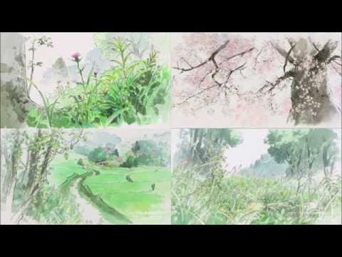 Lizabett Russo - Warabe Uta わらべ唄 (Kaguya hime no monogatari / Princess Kaguya Song - Studio Ghibli)